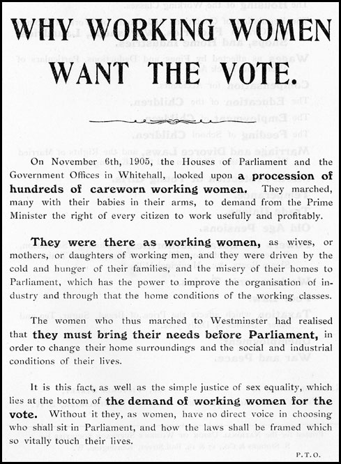 Introduction To Women S Suffrage In Scotland
